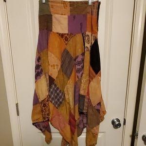 Avatar Patchwork Skirt